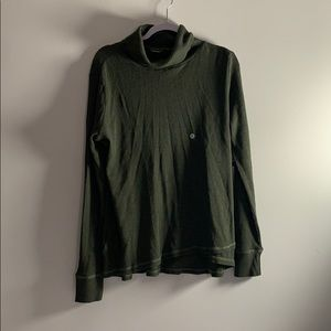 Green Eddie Bauer Turtle Neck New With Tags